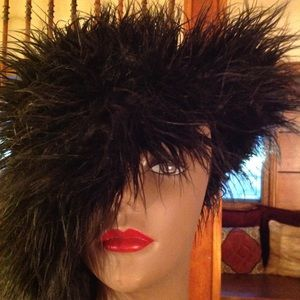 Accessories - Badass Faux Fur Black Hat